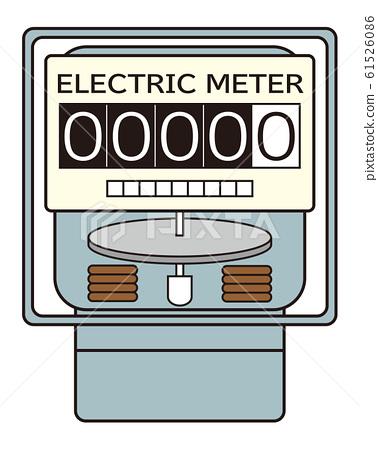 电表图矢量 61526086