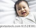 baby boy 6 month in bedroom 61528381