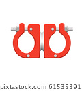 pipe clamp icon 61535391