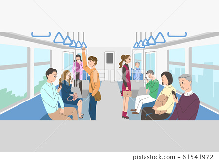 Crowd people and groups concept illustration 006 61541972