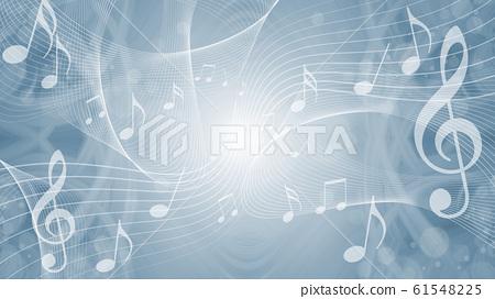 음표에 의한 음악의 이미지 배경 61548225
