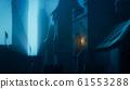 Dark Castle at Night 61553288