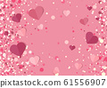 Background with hearts 61556907