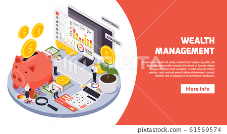 Isometric Wealth Management Banner 61569574