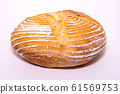 Sourdough on a white background 61569753