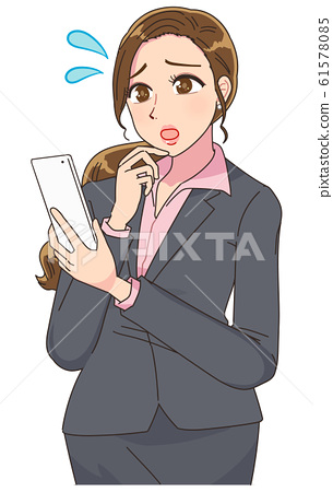 美麗的OL秘書美女 61578085