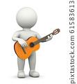 Guitarist 3D Character 61583613