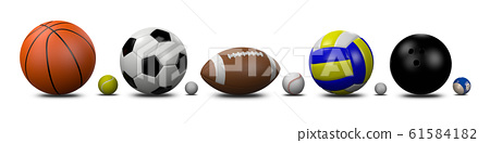 Sports Balls Collection 61584182