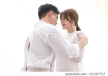 커플 웨딩 61587727