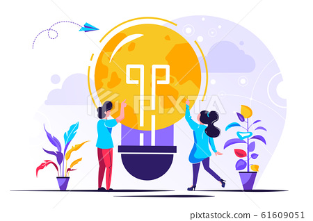 Vector creative illustration of holiday  61609051