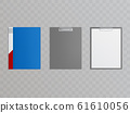 realistic clipboards, folders for holding papers 61610056