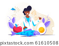 Keto diet vector illustration 61610508