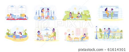 Girlfriends Friendship and Joint Recreation Set. 61614301