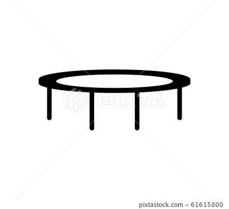 trampoline jumping icon 61615800