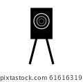 training shooting target icon 61616319