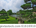 Himeji Castle moat and green space 61616910