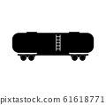 railroad tank wagon icon 61618771