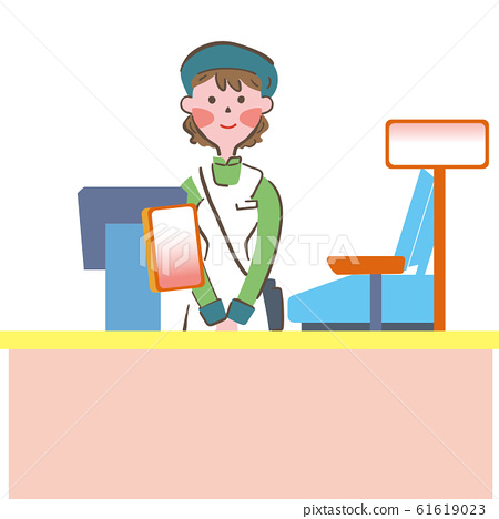 女售貨員 61619023