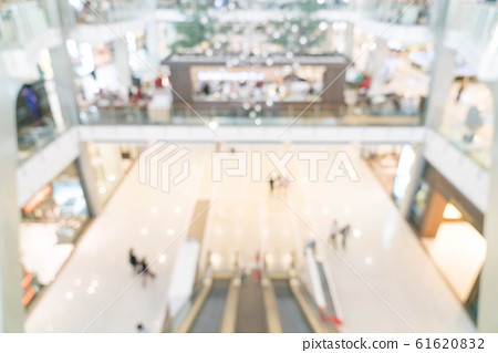 abstract blur in luxury shopping mall and retail 61620832