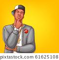 pop art rap, hip-hop male character 61625108