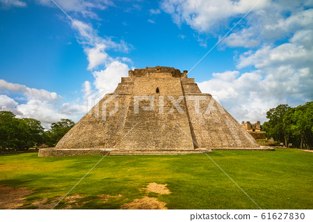 Pyramid of the Magician, uxmal, mexico 61627830