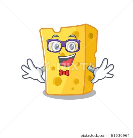 cartoon character of Geek emmental cheese design 61630964