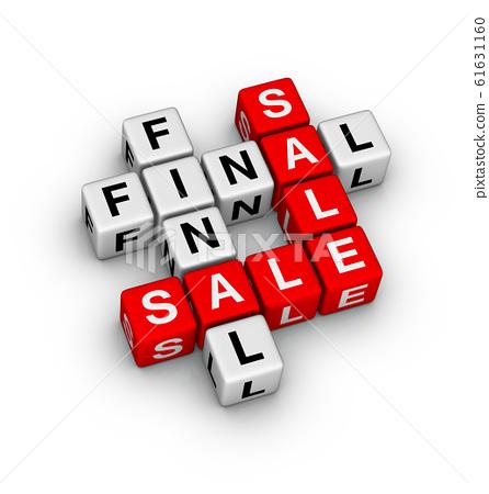 Final Sale Sign. 61631160