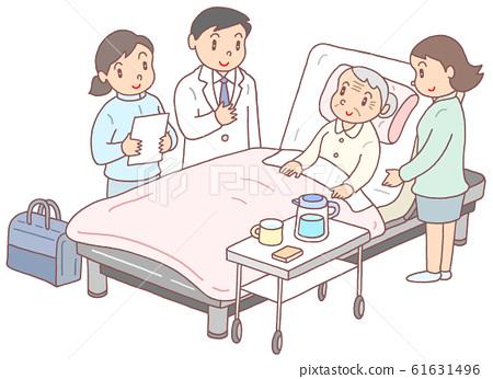방문 진료 (할머니) 61631496