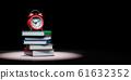 Workload Deadline Pressure Concept 3D Illustration on Black Background 61632352