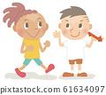 Kids Illustration_Flat Touch 08 61634097
