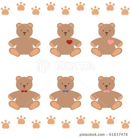 毛絨玩具熊套裝 61637478