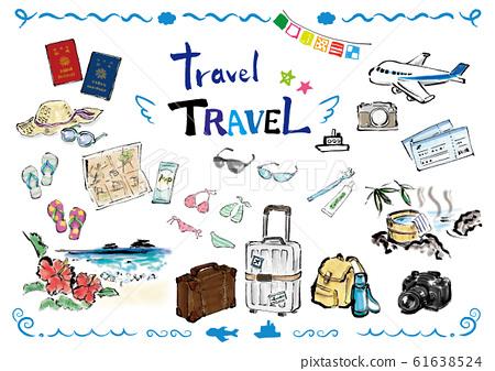 旅行,材料,旅行材料,旅行材料集,旅行集,旅行集,設置,集,旅行,旅行,T 61638524