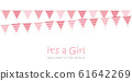 its a girl welcome greeting card for childbirth 61642269