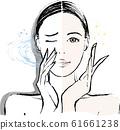 女性鼻炎前後 61661238