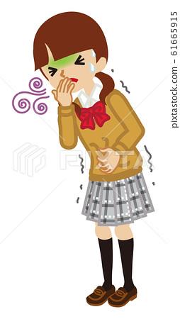 Nausea high school girls symptoms of disease-whole body 61665915