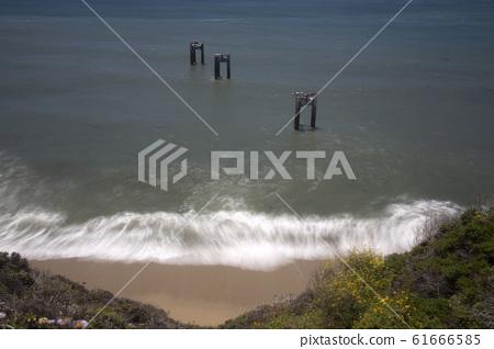 바다 그리고 미완성 다리 풍경  61666585