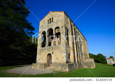 Church Santa Maria del Naranco, Asturias, Spain 61669534