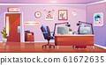 Radio station studio interior, empty room design 61672635