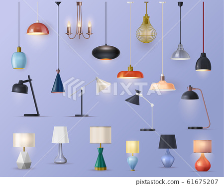 Modern lamps, home illumination chandeliers 61675207