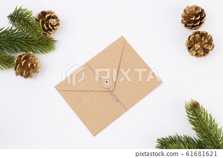 Merry Christmas seasonal concept, Christmas various decorations and gift box elements 056 61681621