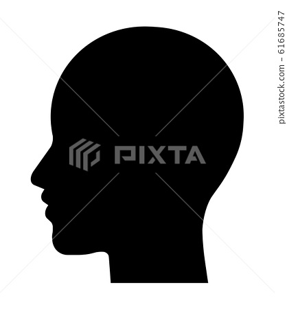 Profile of the silhouette 61685747