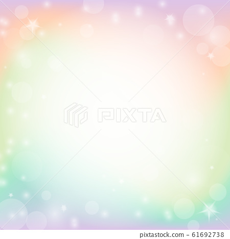 Abstract colorful bokeh and glowing spakling 61692738