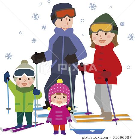 스키 가족 61696687