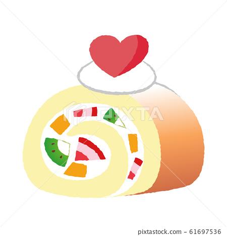 卷蛋糕 61697536