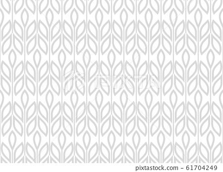 Flower geometric pattern. Seamless background. 61704249