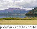 Beautiful landscape of Lake Tazawako 61722160
