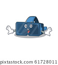 VR virtual reality cartoon character design on a surprised gesture 61728011