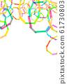 Texture Rainbow Frame 61730803
