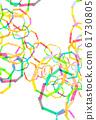 Texture Rainbow Frame 61730805