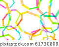 Texture Rainbow Frame 61730809